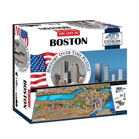 Boston Usa Time Puzzle 1100 Piece - image 3 of 10