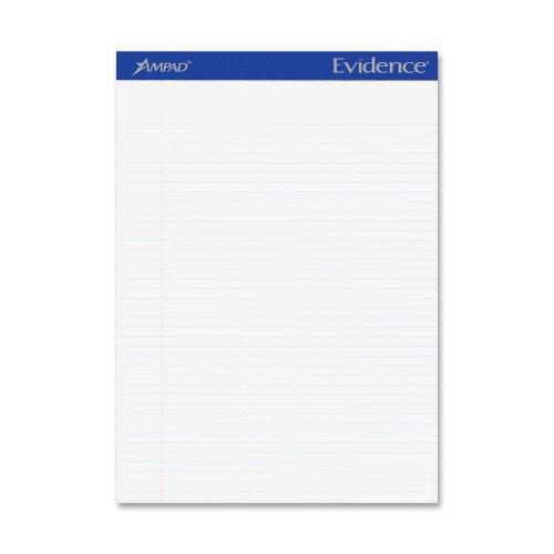 "Ampad Legal narrow-ruled Writing Pad 50 SHeet 15 Lb Legal narrow Ruled 8.50"" X 11.75"" 12   Dozen... by Ampad"