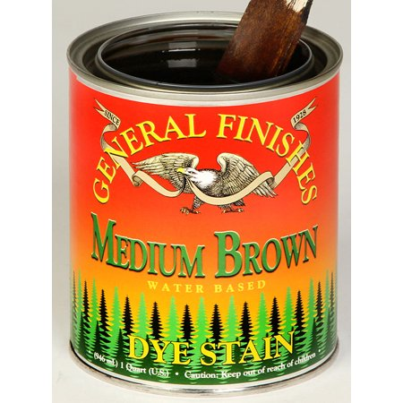 General Finishes GF-DS-Q 1 Quart Interior Dye Stain Water Base Wood (Wood Dye)