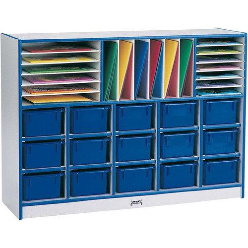 Jonti-Craft Rainbow Accents 34 Compartment Cubby