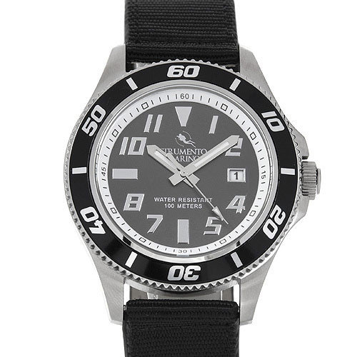 Strumento Marino Coralproof SM057TSS/NR/RS Men's Stainless Steel Watch