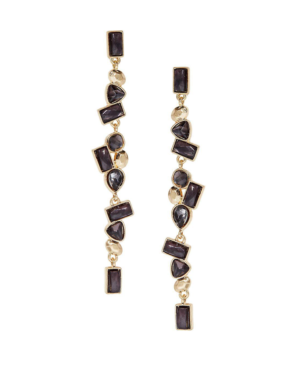 Cluster Linear Earrings