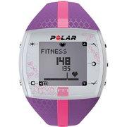 Polar FT7 Heart Rate Monitor Watch, Lilac/Pink