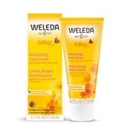 Weleda Baby Nourishing Face Cream with Calendula Extracts, 1.7 oz.