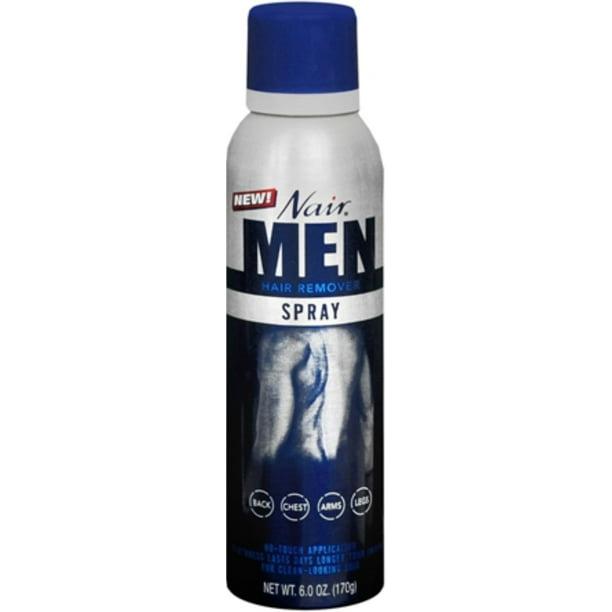 Nair For Men Hair Remover Spray 6 Oz Walmart Com Walmart Com