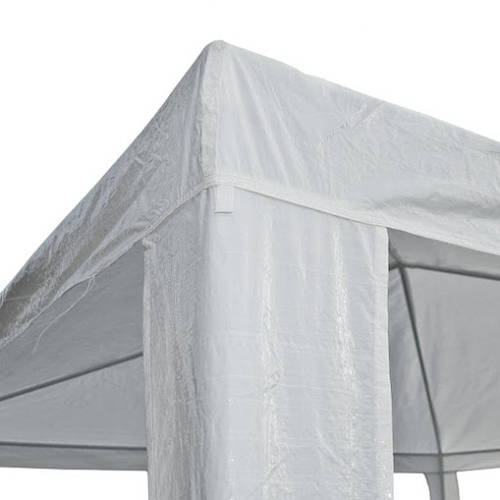 ALEKO GZ10X10WH Waterproof Gazebo Tent Canopy For Outdoor Events Picnic Parties, White Color by ALEKO