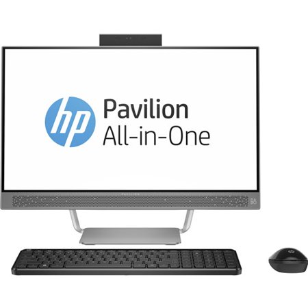 40a97a8326194 HP Pavilion 24-a210 All-in-One Desktop PC with Intel Core i5-7400T  Processor