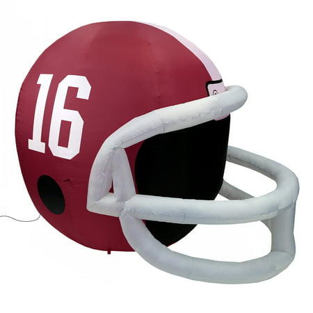 NCAA Alabama Crimson Tide Team Inflatable Lawn Helmet, Red, One Size (Inflatable Helmet)