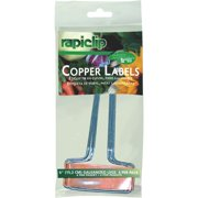Rapiclip 6 In. Copper Plant Label (4-Pack) 861