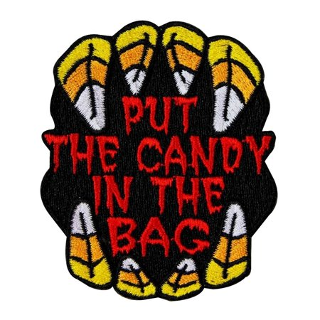 Gooseberry Patch Halloween (Kids Halloween Patch Put The Candy In The Bag Trick or Treat Iron-On)
