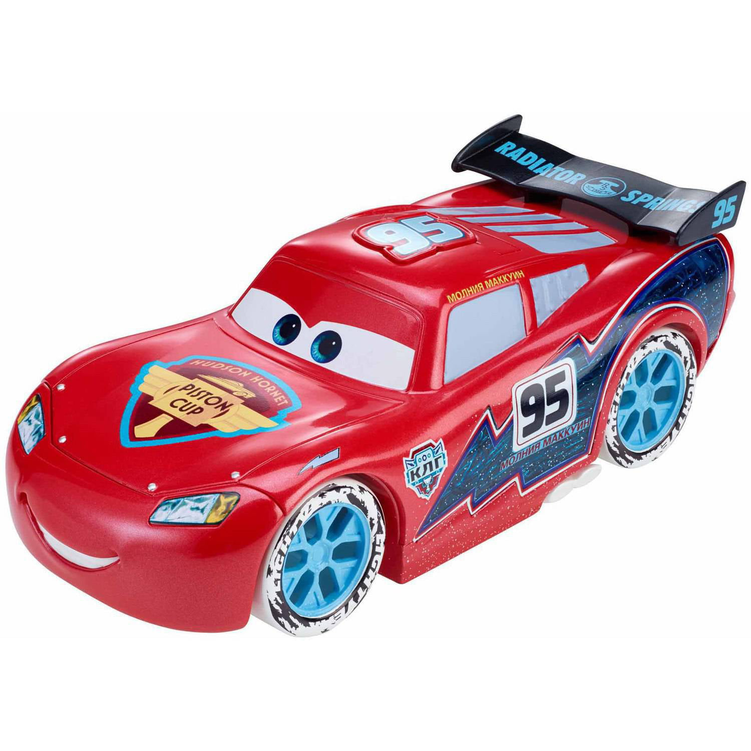 disney pixar cars ice racers ice lights lightning mcqueen. Black Bedroom Furniture Sets. Home Design Ideas