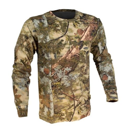 King's Camo Classic Cotton Long Sleeve Shirt Mountain Shadow Medium