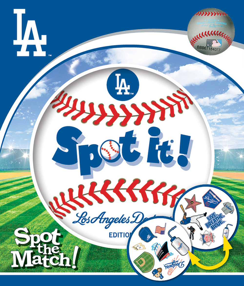 Masterpieces Los Angeles Dodgers Spot it Game