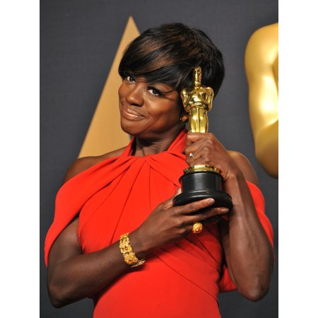 Viola Davis Best Supporting Actress For Fences In The Press Room For The 89Th Academy Awards Oscars 2017 - Press Room The Dolby Theatre At Hollywood And Highland Center Los Angeles Ca February 26