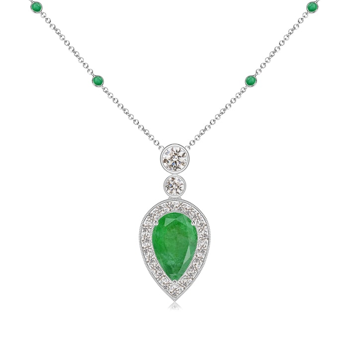 PENDANT .70GRAMS Details about  /3750A-18KT YELLOW GOLD AND EMERALD SIDE