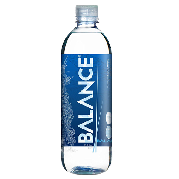 Balance Water Balance Spring Water 33.8 oz Bottles Pack of 12 by