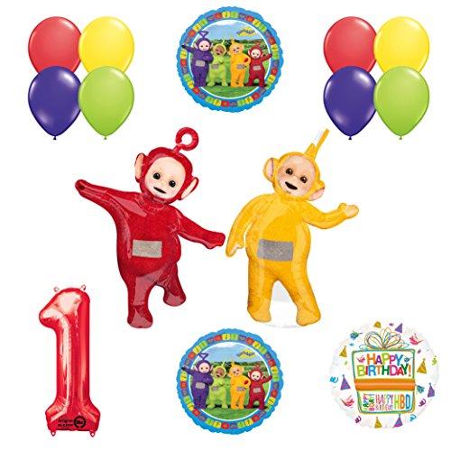 Teletubbies 1st birthday LAA-LAA & PO Balloon Birthday Party supplies