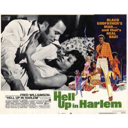 - Hell Up in Harlem POSTER Movie Mini Promo