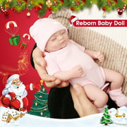 """NPKDOLL 11"""" Reborn Baby Dolls Full Body Handmade Realistic Silicone Vinyl Doll Gifts for Ages 3+ Gifts for Kids Perfect Christmas gift"""