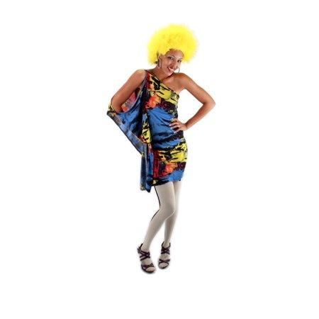 Yellow Fuzzy Costume Wig Adult One Size](Fuzzy Wigs)