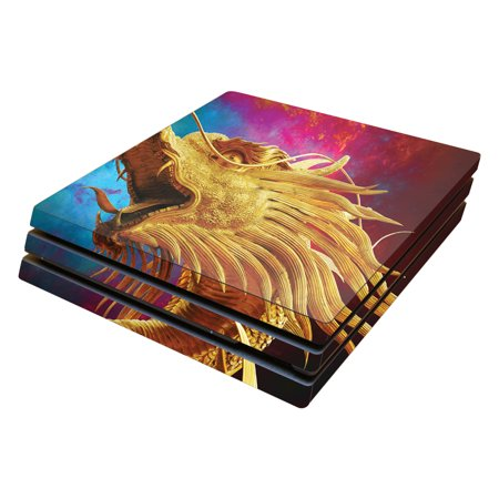 Skin Decal Wrap for Sony PlayStation 4 Pro PS4 The Golden