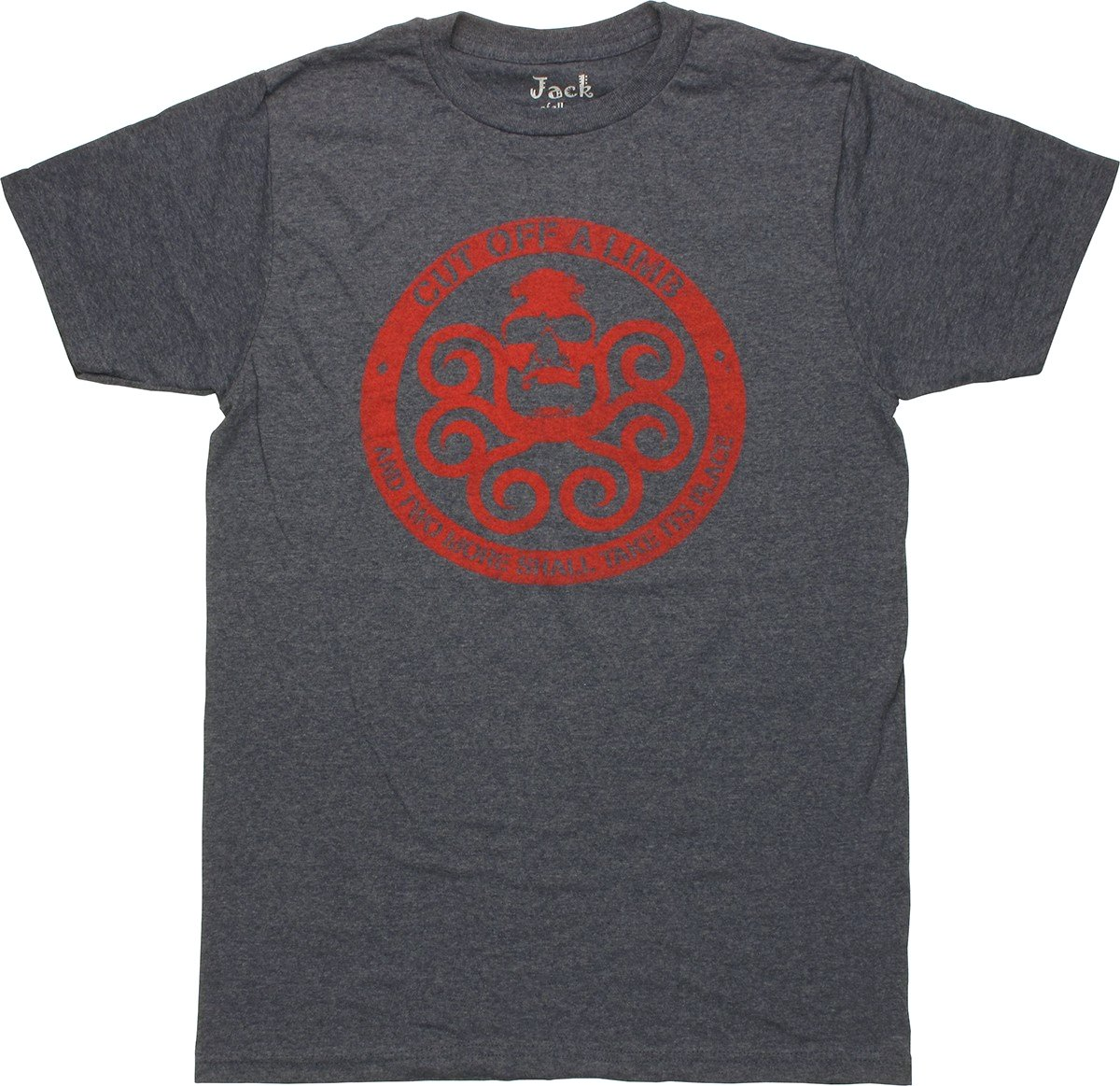 Hydra Circle Cut Limb T-Shirt