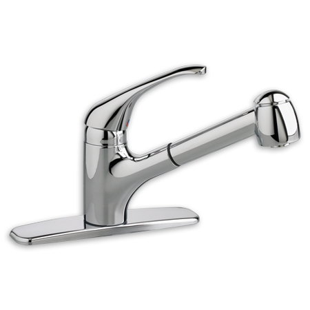 American Standard Reliant+ 1.5 GPM Single-Handle Pull-Out Kitchen Faucet in  Chrome