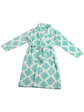 Product Image Home Soft Things Jules Microfiber Flannel Fleece Bathrobe 8c5ca6e20