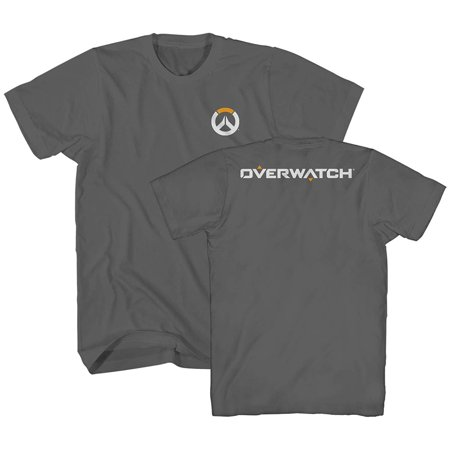 Overwatch Text Icon BlizzCon Video Game Gamer Gaming Adult Mens T-Shirt