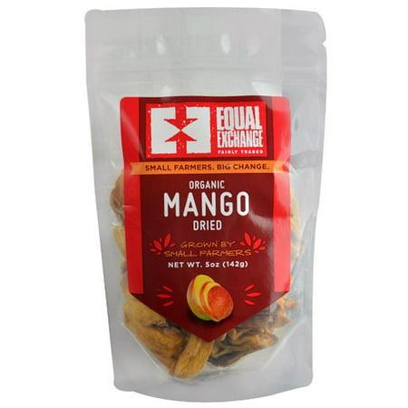 Equal Exchange Organic Dried Mango 5 oz - Cookie Exchange