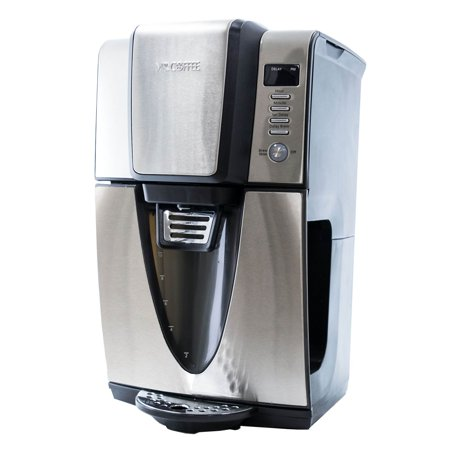 Mr. Coffee 24 Hour Programmable Power Serve 12 Cup Coffee Maker, Stainless Steel