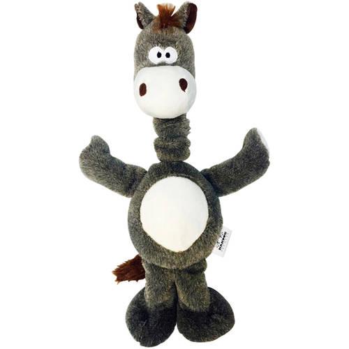 Nandog My BFF Suede Elastic Neck Horse Toy