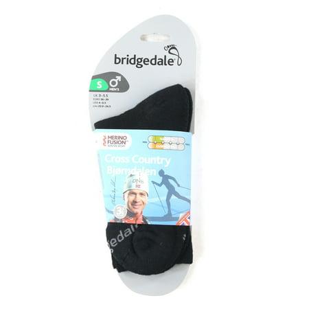 Bridgedale Mens Cross Country Bjorndalen Merino Fusion Socks Small 4-6.5 - Globe Mens Fusion