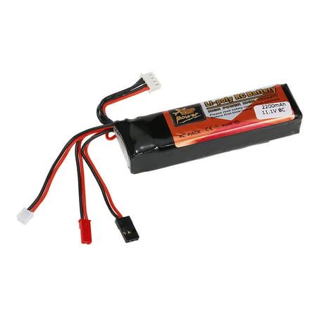 High Quality Transmitter LiPo Battery 11.1V 2200mAh for Futaba JR Walkera Devo7/10 WFLY Transmitter 10 Cell Lipo Balancer