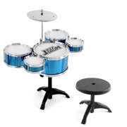 Children'S Drum Set Jazz Drum Percussion Instrument Early Education Puzzle For Kid Over 3 Years Old