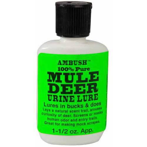 Moccasin Joe Mule Deer Urine Lure