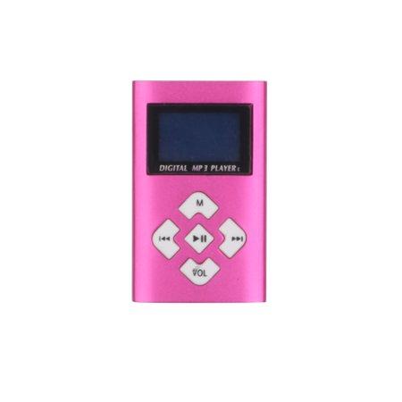 "1.1"" Lcd Screen Mini Clip MP3 Music Player TF Card Slot USB MP3 Players + Earphone"