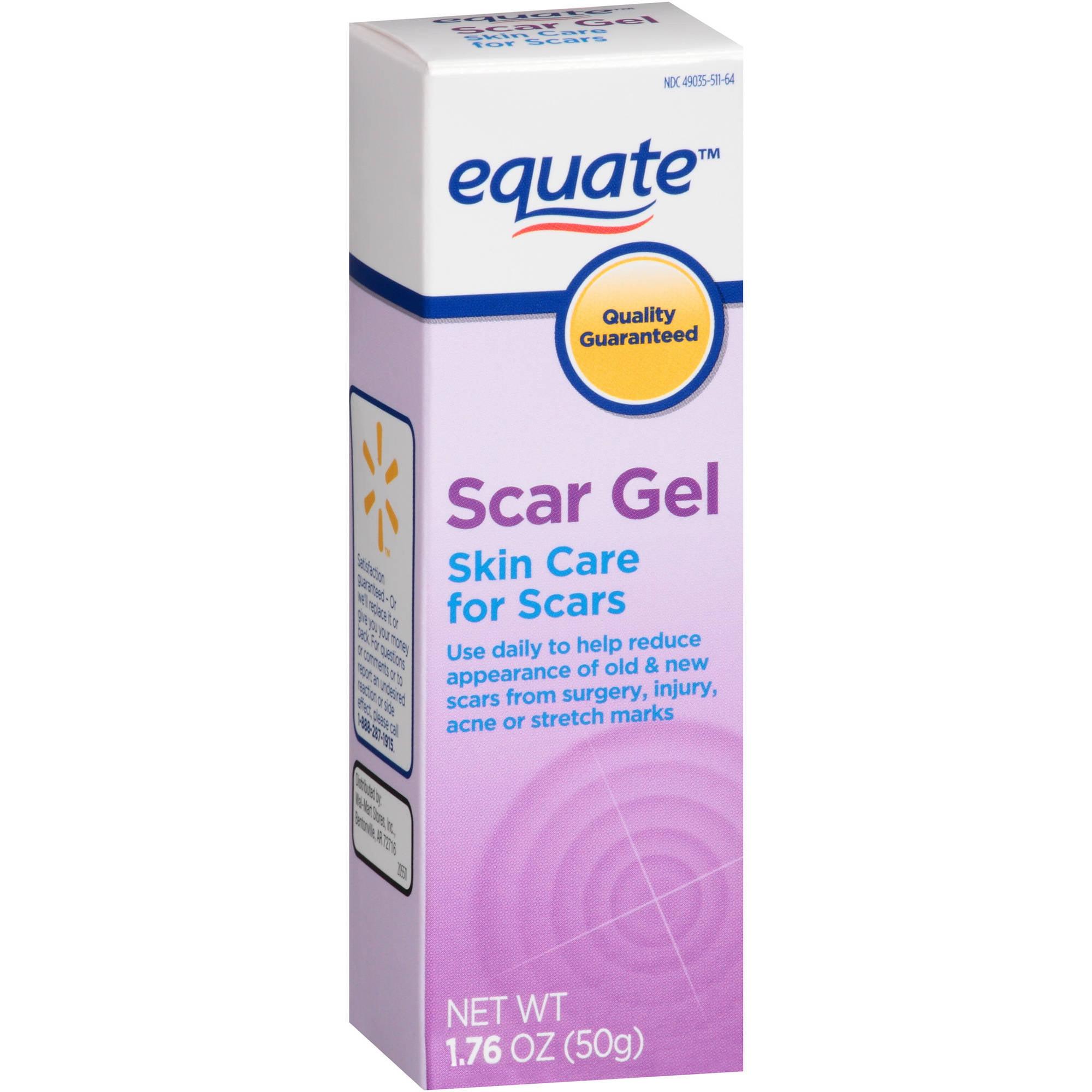 Equate Scar Gel, 1.76 oz