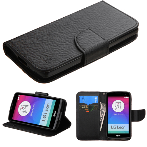 For RISIO, C40 Leon/H320 Black Pattern/Black Liner MyJacket wallet +card slot