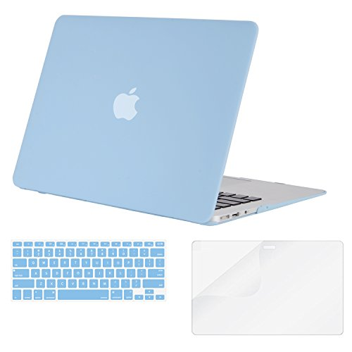 Laptop Rubberized Cover Sleeve Bag Shell+keyboard+Film for Macbook 12/'/' 2015 NEW