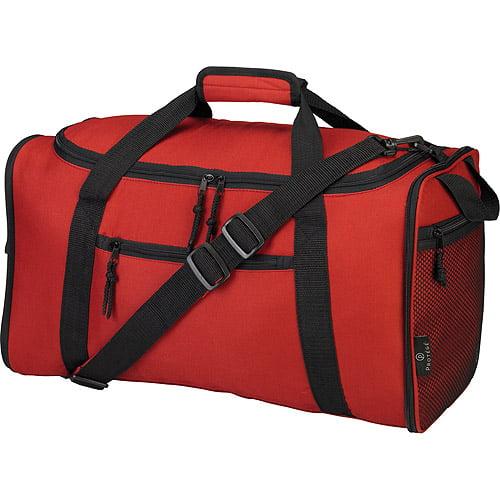 "Protege 20"" Expandable Duffel Bag, Red Garnet"