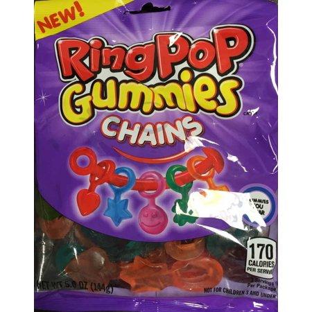 Ring Pop Gummies Chains, 5 oz