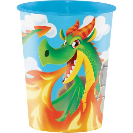 Dragon Plastic Keepsake Cup, each (Dragon Keepsake)