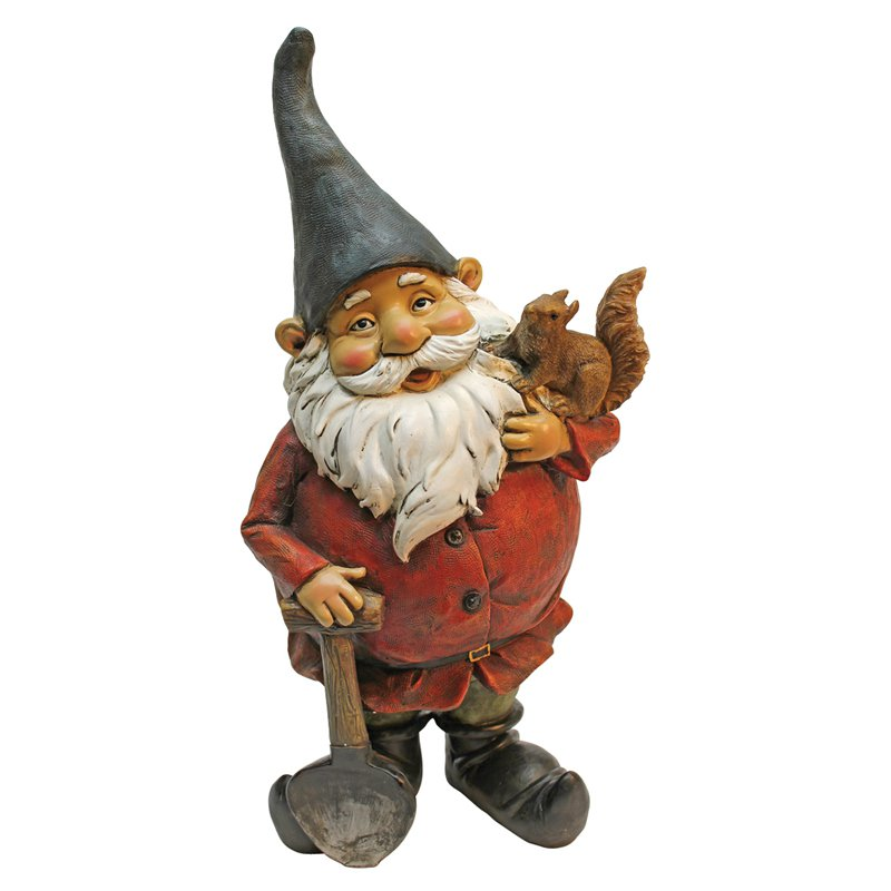Digger, the Garden Gnome Statue by Design Toscano
