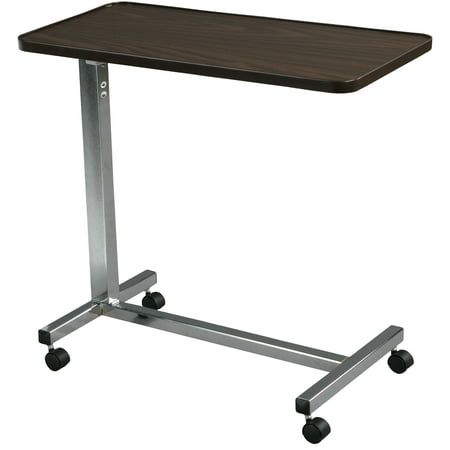 Drive Medical Non Tilt Top Overbed Table, Chrome Drive Medical Universal Oxygen Cylinder