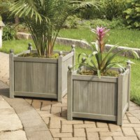 Deals on Better Homes and Gardens Camrose Farmhouse Outdoor Planter