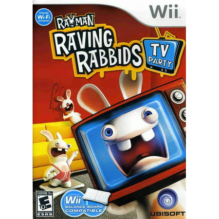 Rayman Raving Rabbids Tv Party / Game