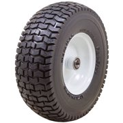 "Marathon Industries 30326 13 X 5.00 - 6"" Turf Tread Lawn Mower Flat Free Tire"