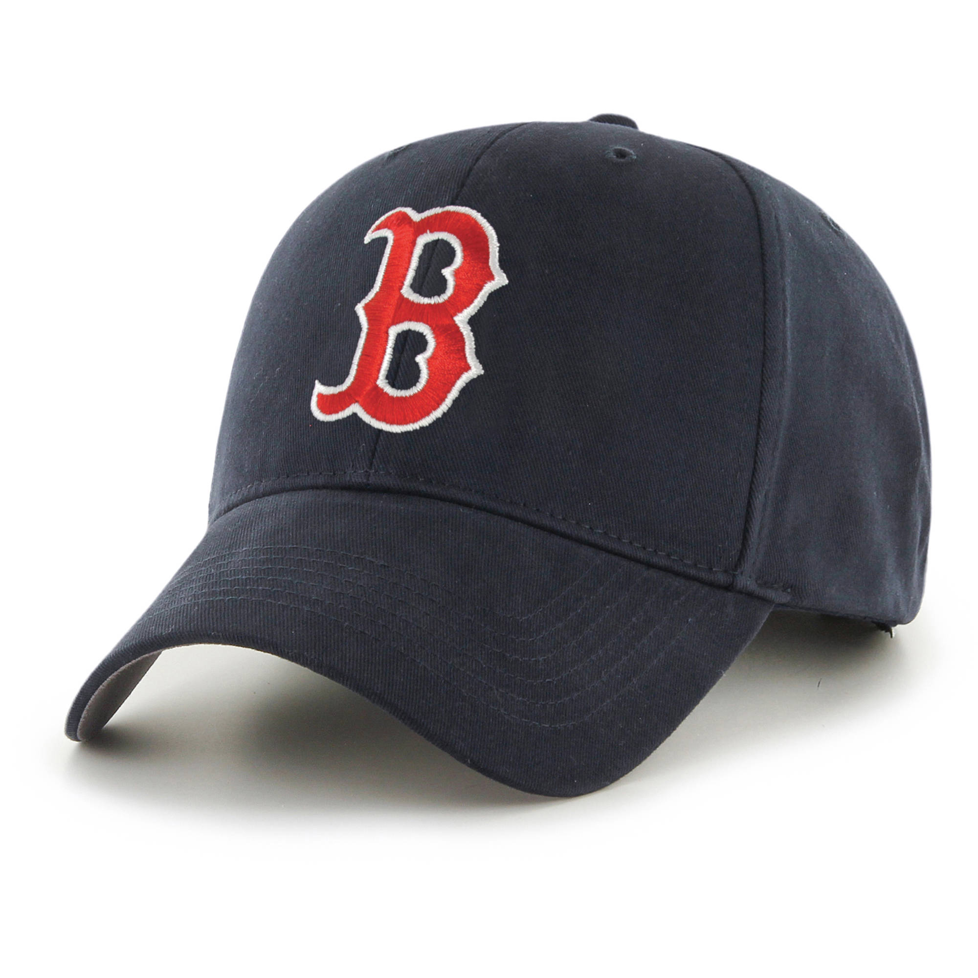 fan favorite - mlb basic cap, boston red sox - walmart