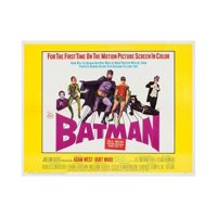 Batman: the Movie, 1966 Print Wall Art